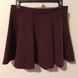 Gap swing skirt